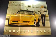 1980 Chevrolet CORVETTE Dealer Brochure / POSTER