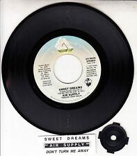 "AIR SUPPLY  Sweet Dreams & Don't Turn Me Away 7"" 45 record NEW + jukebox strip"
