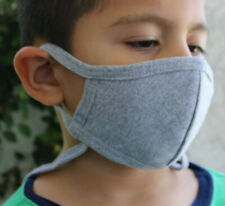 809, Gray mask, Face Cover, KIDS, Face mask, REUSABLE, 100% Cotton