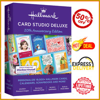 Hallmark Card Studio 2020 Deluxe 🔐 Lifetime License 🔐 Inst Delivery 📥