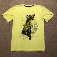 Lebron James NIKE Dri Fit Men's T Shirt Size Small Dunk Graphic