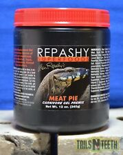 Repashy Superfoods - Meat Pie for Reptiles - Carnivore Gel Premix 340g