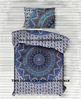 Indian Psychedelic Star Mandala Bedding Twin Duvet Cover With 1 PC Pillow Cover