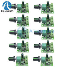 New Listing10pcs Dc 18 15v 2a Motor Speed Switch Controller Pwm 1803bk Self Recovery Fuse