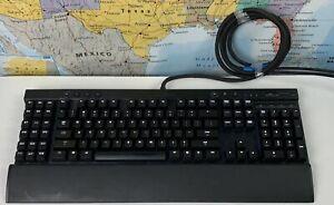 SHIPS SAME DAY Corsair Vengeance K95 Keyboard RARE Fortnite WoW Gaming Keyboard