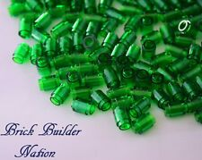 ☀️Lego 1x1 TRANS-GREEN Round Brick x100 Stud Part Piece Bulk Lot Legos # 3062b