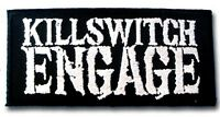 KILLSWITCH ENGAGE Embroidered Iron On Sew On Jacket Patch 4.3""