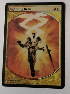 Mtg Rare full art, Lightning Helix, Player reward 2006