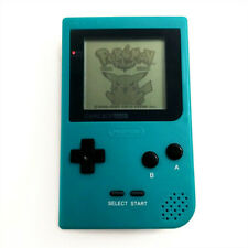 Teal Green Nintendo Game Boy Pocket GBP Game Console System + Game Card