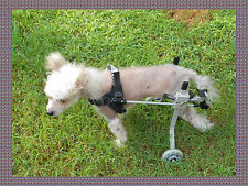 dog wheelchair, Ultra small size dog approx. 9 lbs. or less, New, ready to ship