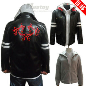 Details about  /Black Mens Black Cosplay Costumes Capes Jackets Tops Coats S-2XL