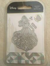 Disney Waltzing Belle Metal Die with Face Stamp DUSO610 NEW