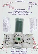 Sugarflair Woodland Green Blossom Tint Powder, 7ml, Edible Food Colour Dust