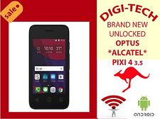 "ALCATEL Pixi 4 Ot-4017x 4gb 3.5"" Camera GPS FM Android 5.1"