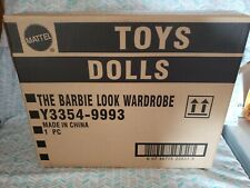 BARBIE LOOK COLLECTION WARDROBE *NEW* IN SHIPPER NRFB