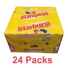 24 Packs Starburst Original BONBONS éclatant de jus de fruits