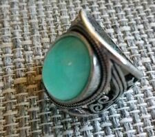 Dress Ring Turquiose Stone Size 8.5