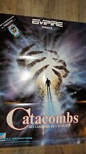 CATACOMBS  !  affiche video horreur