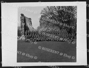 1942 Northen Ireland Command - 27th Lancers group - W.O. photo 12 by 9cm