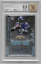 2014 Contenders Playoff Ticket Teddy Bridgewater Autograph #02/10 BGS NM-MT+ 8.5