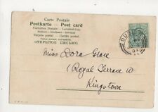 Miss Dora Grace Royal Terrace West Dublin Ireland 1904 321b