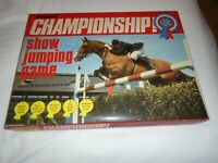 CAPRI CHAMPIONSHIP  SHOW  JUMPING  BOARD  GAME   COMPLETE