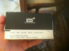 Fountain Pen Montblanc Ink 1/2 full, Box is ripped/torn on the side