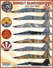 "1/48 Furball VFC-111 ""Bandit Sundowners"" F-5N/F decals for the AFV Club Kit"