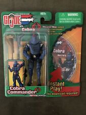 Hasbro GI Joe vs Cobra Spy Troops Cobra Commander w/Mission Disc