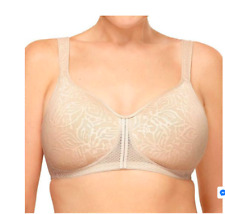 5d7ca62f97e35 Wacoal Awareness Wire free T-Shirt Bra 856367 Sand US Size 34G  UK 34F