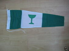 GIN PENNANT - 3 feet (90cms) - Quality Sewn Pennant flag.-  Roped and Toggled