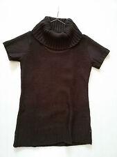 Pullover Pulli Pullunder Shirt Damen AUTUMN MAGIC 40 L braun dunkelbraun TCM