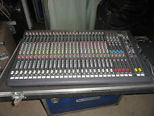 DDA CS3-24 CHANNEL AUDIO MIXING CONSOLE DEMO IN ROAD CASE..NEW PRICE !!!