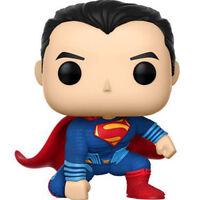 FUNKO POP Justice League Superman SOFT VINYL BOBBLEHEAD ACTION FIGURE NEW