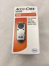Accu-Chek Mobile Test Cassette 100   exp. 06/19