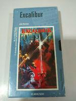 Excalibur John Boorman - VHS Cinta Español Nueva