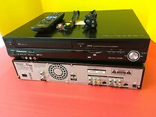 Panasonic DMR-EZ485V VHS/DVD Recorder Player With Remote Control & VCR Cable