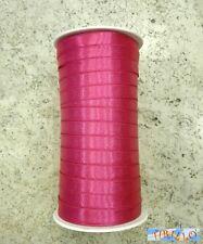 MERCERIA - Bobina da 100 metri di nastro di raso 10 mm - Fuchsia