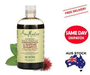 SHEA MOISTURE Jamaican Black Castor Oil Strengthen & Restore Shampoo, 384 mL