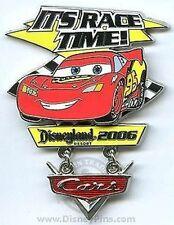 Disney Pin: DLR - Disney-Pixar Cars - Opening Day - Lightning McQueen LE 1500