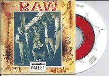 "SPANDAU BALLET - Raw 3"" CD SINGLE 3TR CARDSLEEVE (CBS) 1988"