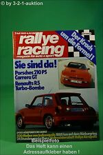 Rallye Racing 7/80 Porsche 924 Carrera GT R5 Turbo + Poster