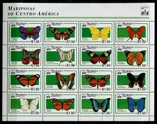 NICARAGUA 1994 Schmetterlinge Butterflies Papillon Farfalla  3257-3272**