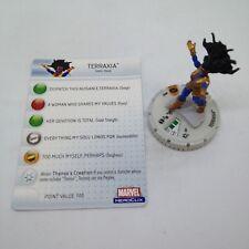 Heroclix Infinity Gauntlet set Terraxia #009 Limited Edition figure w/card!