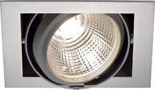 SLV SQUARE Deckeneinbauleuchte, DL 195 G12, silbergrau, max. 70W