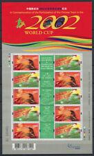 Hong Kong 2002 Mi. 1034-1035 Miniature sheet 100% MNH Football, World Cup