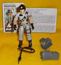 MAINFRAME (v1) 1986 Series 5 - With Card - G.I. Joe GI Hasbro ○○○○ COMPLETO