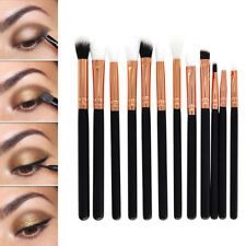 12pcs Profeesional Eye Shadow Eyebrow Blending Brush Set Eye Make Up Brushes