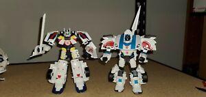 Takara Transformers Adventure Jazz vs Drift Origin Mode Complete TAV VS05 RID