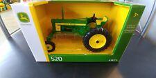 John Deere model 520 1/16th scale Die-cast metal replica vintage tractor LP66115